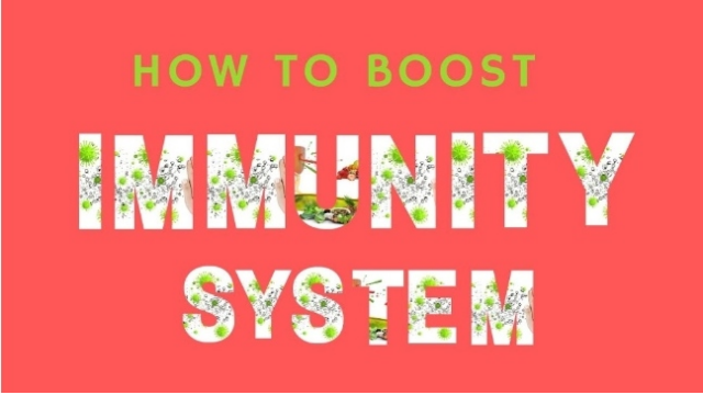 How to boost immunity system